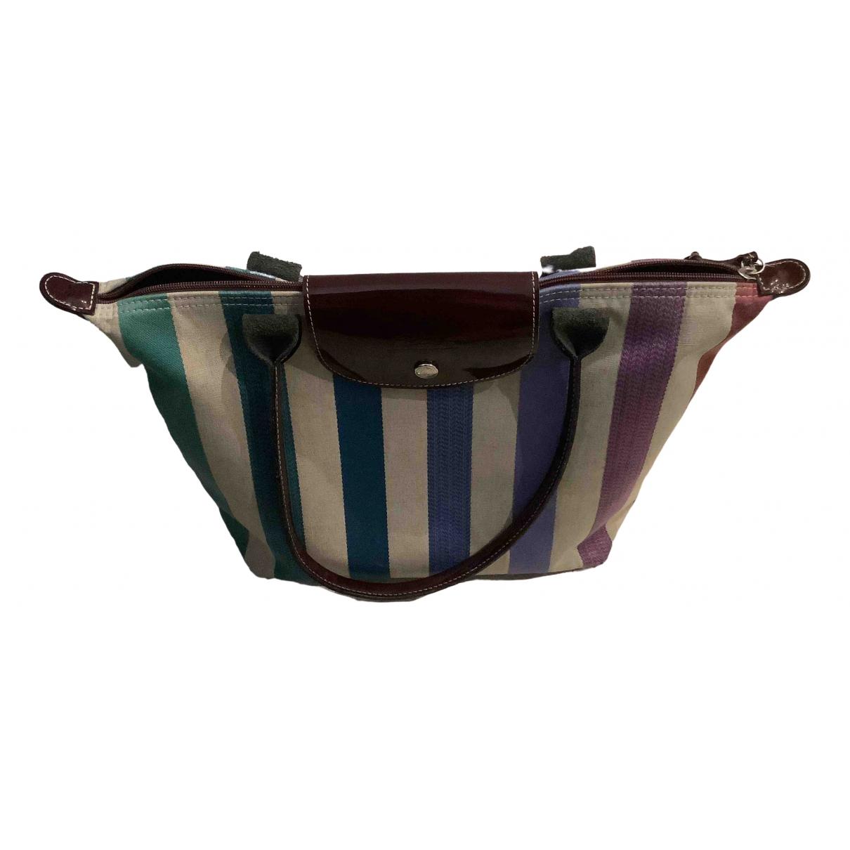 Longchamp - Sac a main Legende pour femme en coton - multicolore