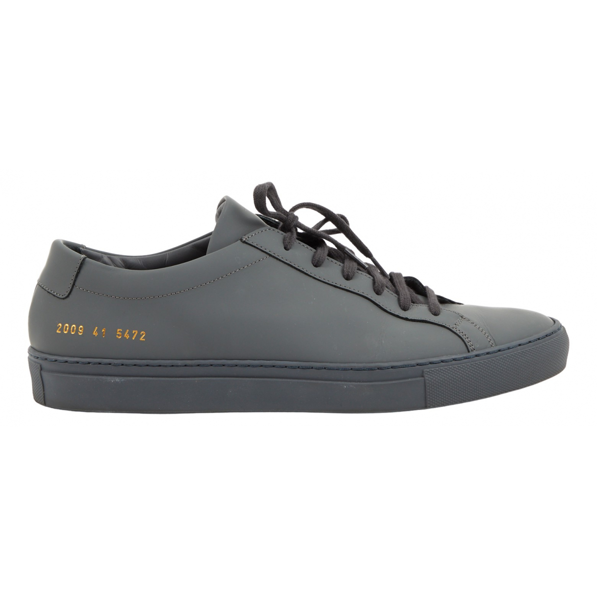 Common Projects \N Grey Leather Trainers for Men 41 EU