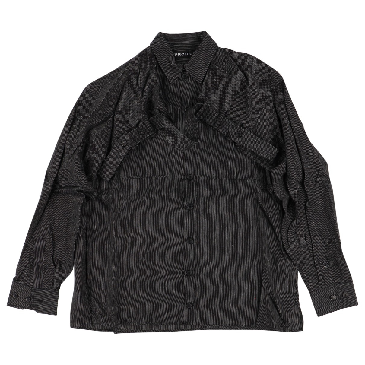 Y/project \N Grey Cotton Shirts for Men S International