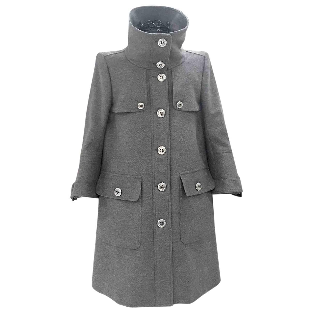 Burberry \N Grey Wool coat for Women 40 IT