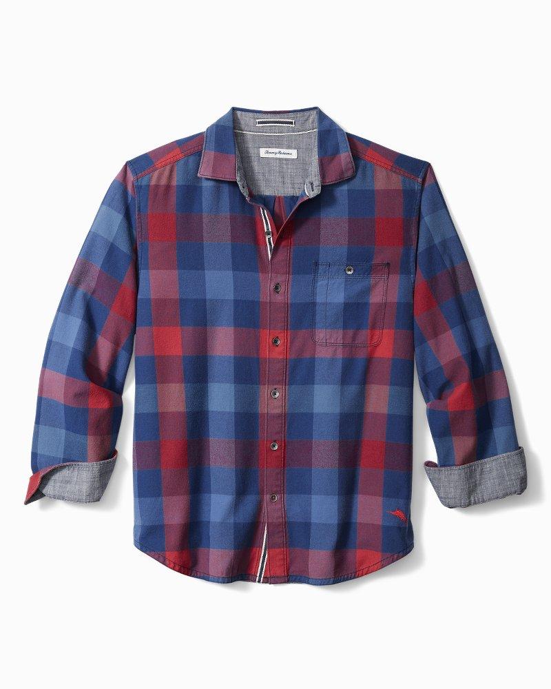 Big & Tall Camano Bay Check Flannel Shirt