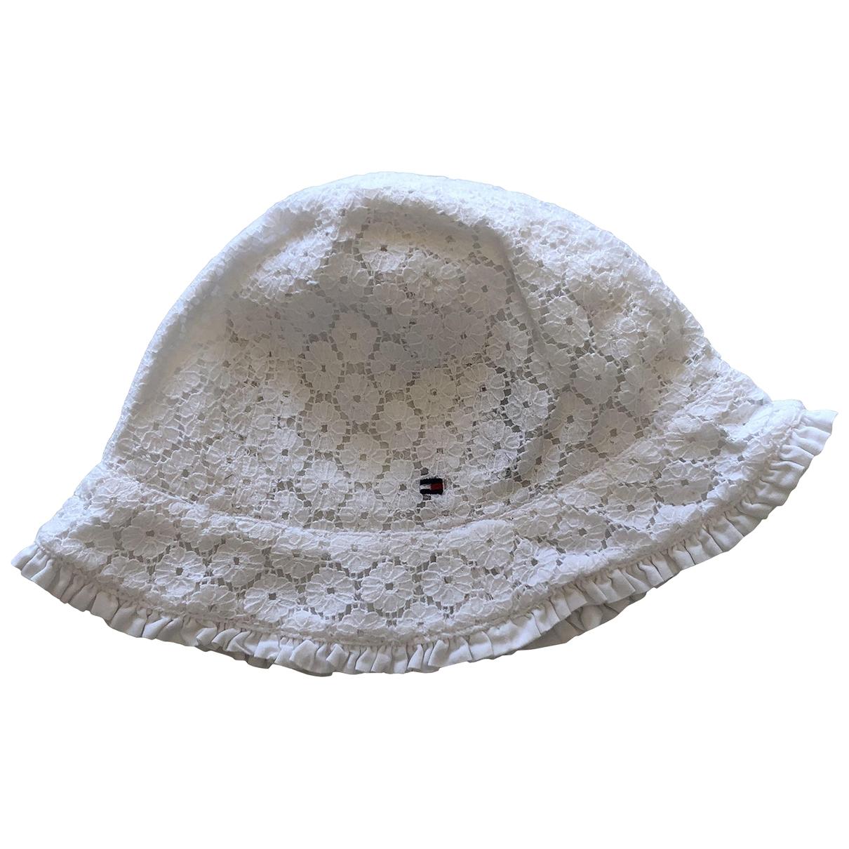 Tommy Hilfiger - Chapeaux.Bonnets.Gants   pour enfant en coton - blanc