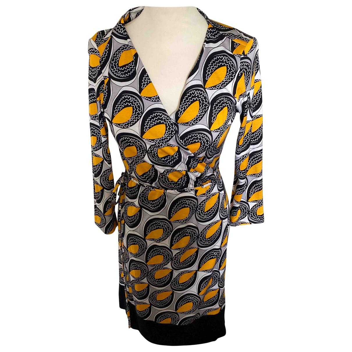 Diane Von Furstenberg - Robe   pour femme en coton - multicolore