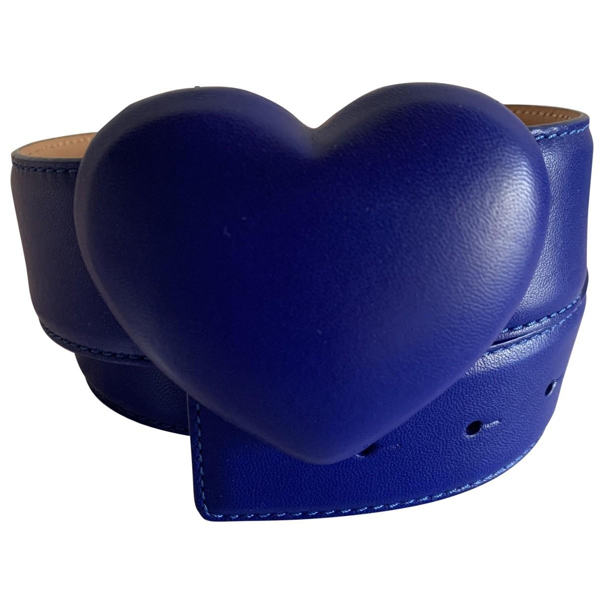 Cinturon de Cuero Moschino Cheap And Chic