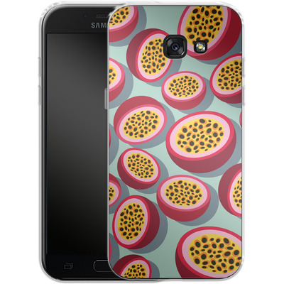 Samsung Galaxy A5 (2017) Silikon Handyhuelle - Passion Fruit von Susana Paz