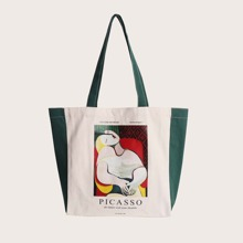Painting Graphic Tote Bag