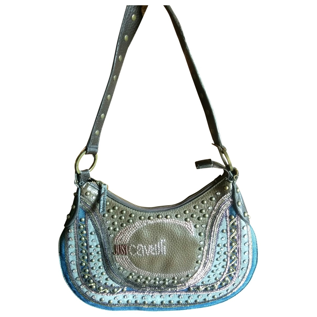 Just Cavalli \N Handtasche in  Braun Synthetik