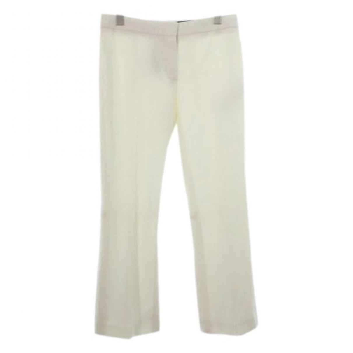 Pantalon de Lana Alexander Mcqueen