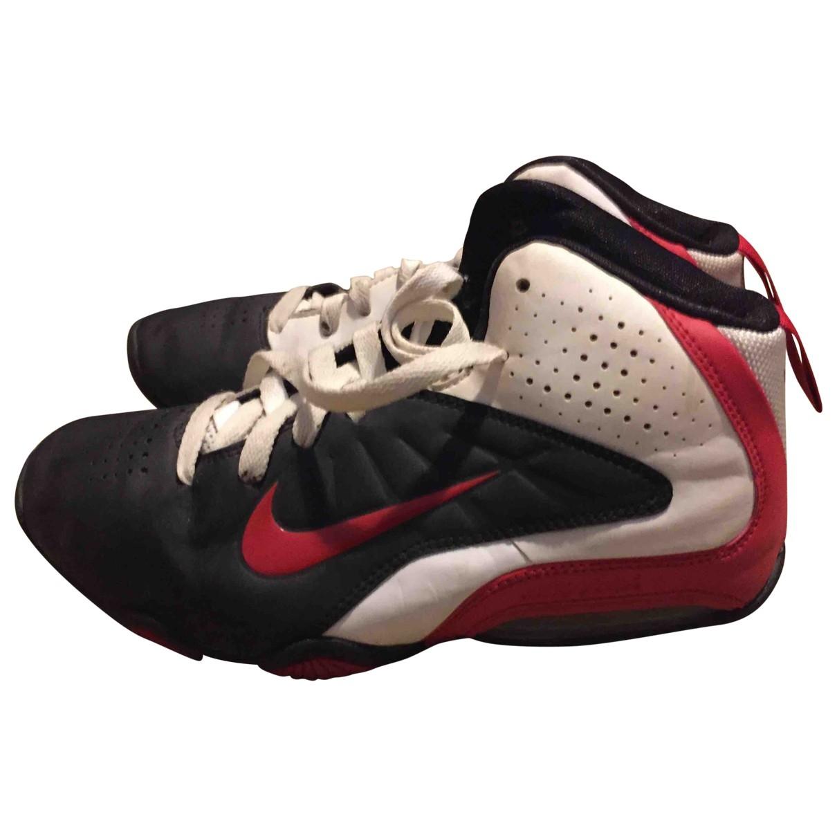 Nike - Baskets Air Max  pour enfant en cuir - blanc