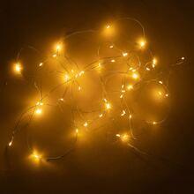 50 Stuecke Kupfer Lichterkette mit Gluehbirnen