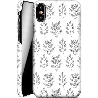 Apple iPhone X Smartphone Huelle - Botanic Studies 2 von Lucy Bohr