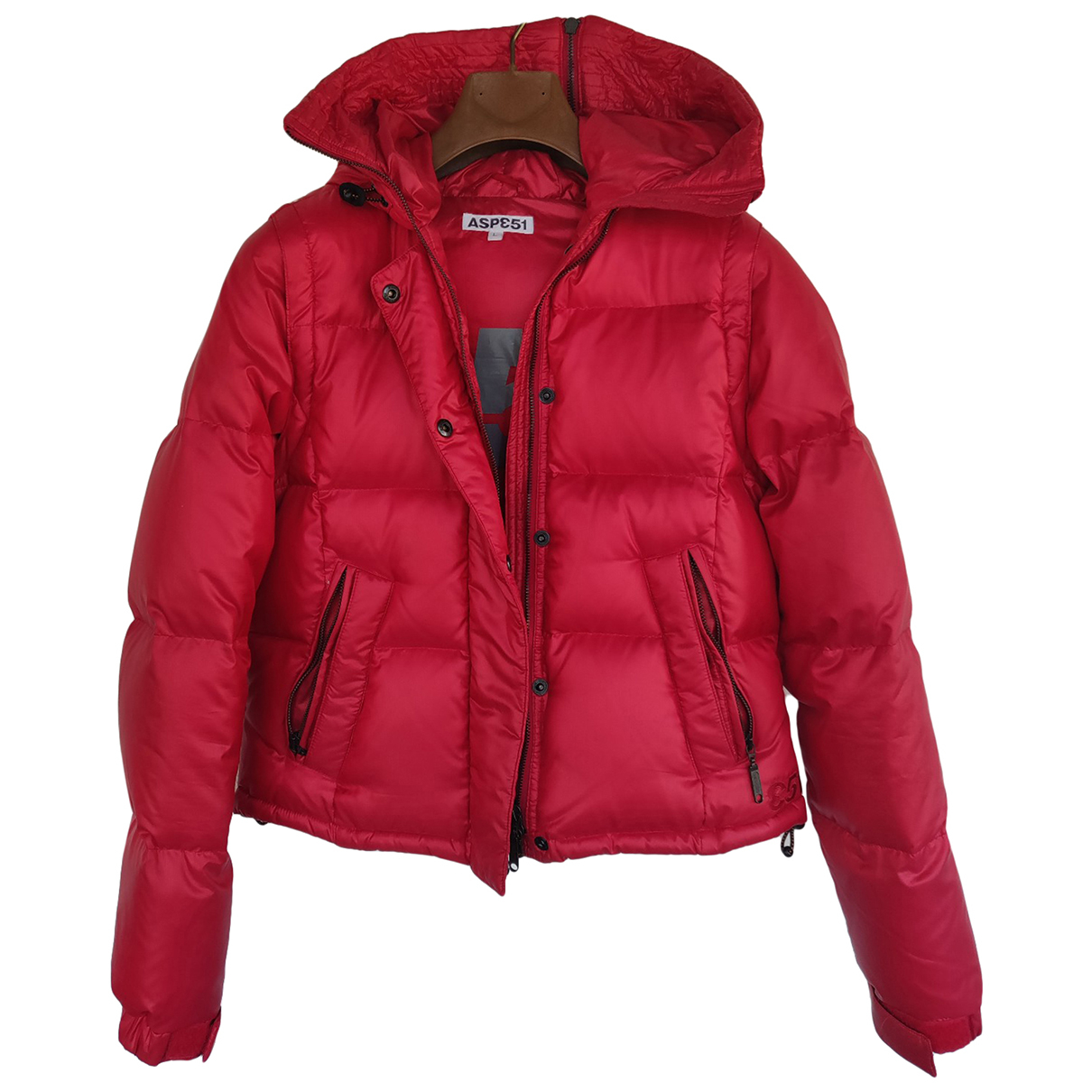 Aspesi - Manteau   pour femme - rouge