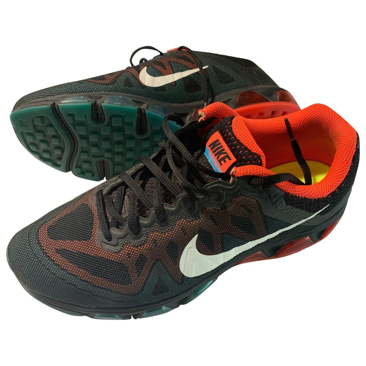 Nike Air Max  Black Cloth Trainers for Men 44.5 EU