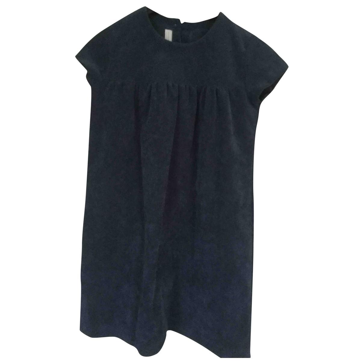 - Robe    pour enfant - bleu