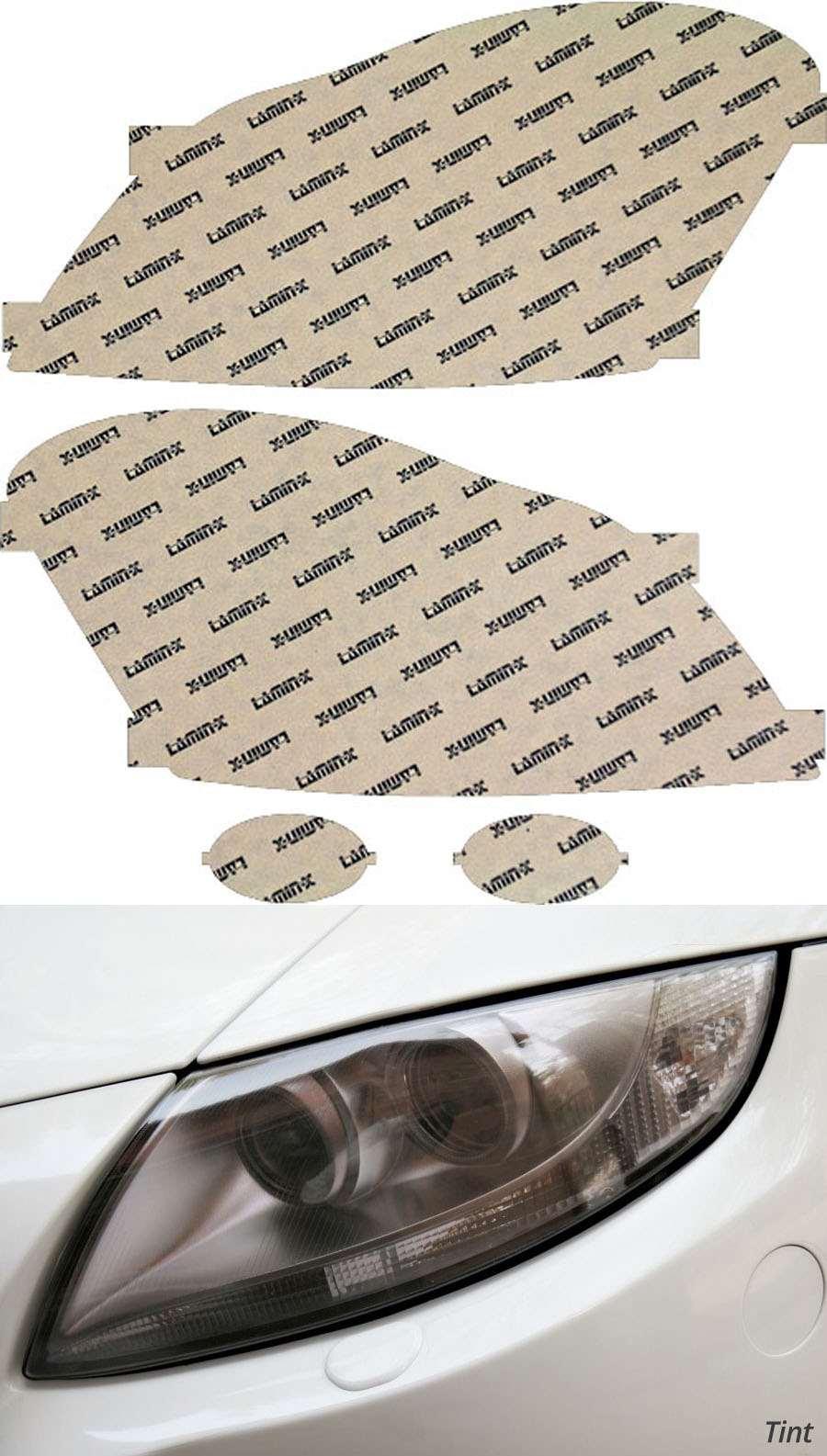 Mercedes GL-Class 07-09 Tint Headlight Covers Lamin-X MB019T