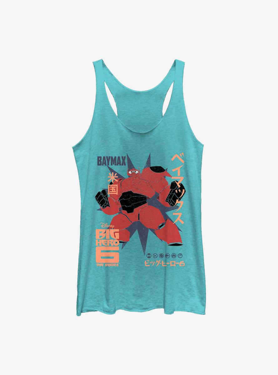 Disney Big Hero 6 Baymax Poster Womens Tank Top