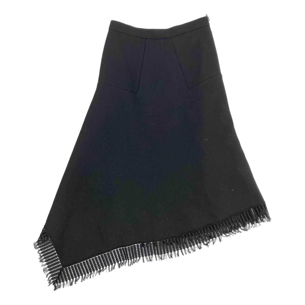 Roland Mouret - Jupe   pour femme en laine - noir
