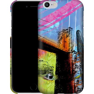 Apple iPhone 6 Plus Smartphone Huelle - Pop Brooklyn Bridge von Mark Ashkenazi