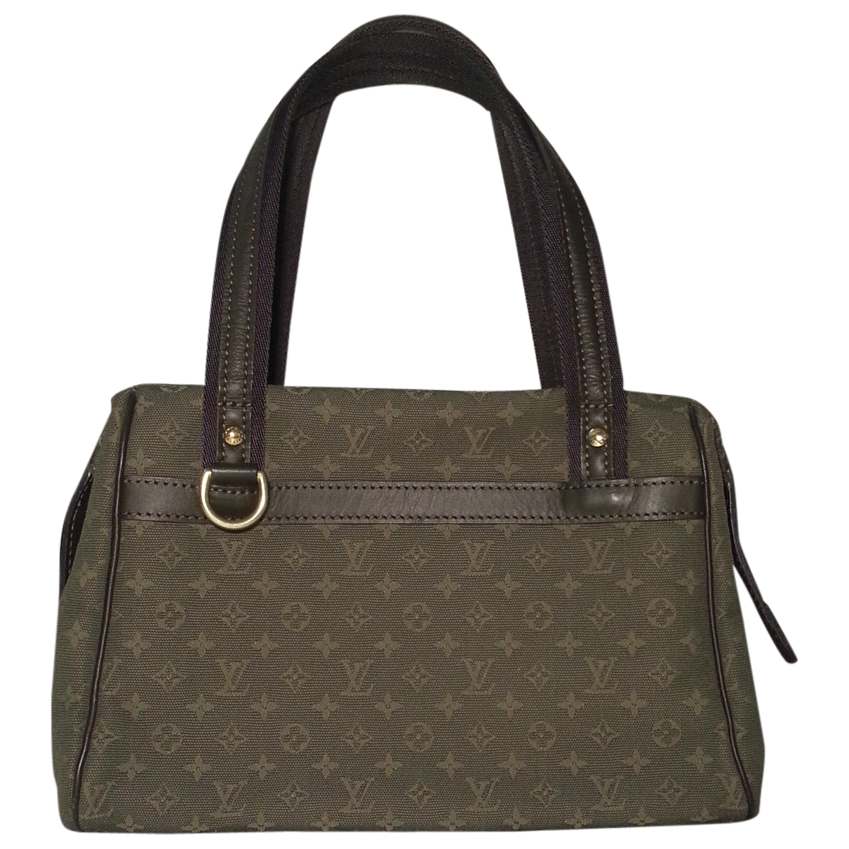 Louis Vuitton Josephine  Brown Cloth handbag for Women \N