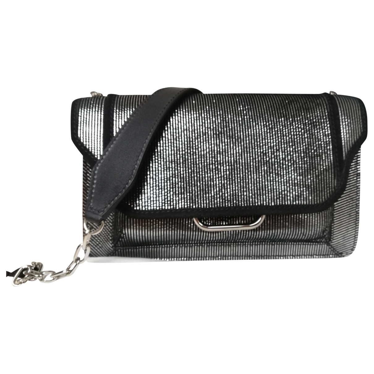 Isabel Marant \N Black Leather handbag for Women \N