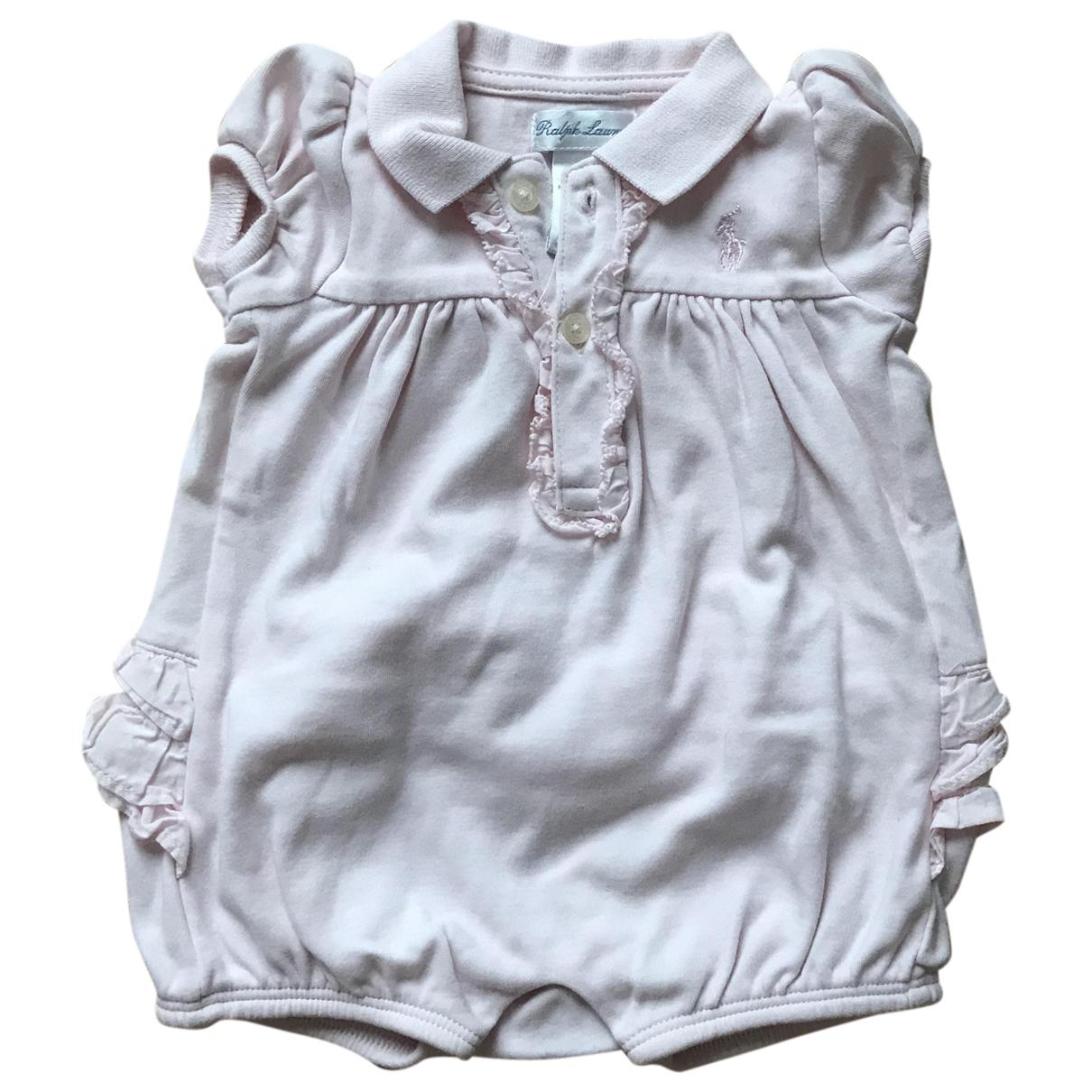 Ralph Lauren \N Pink Cotton  top for Kids 3 months - up to 60cm FR