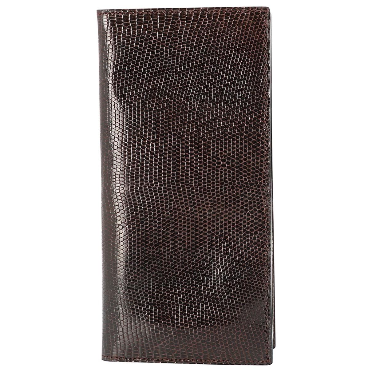 Dior - Portefeuille   pour femme en crocodile - marron