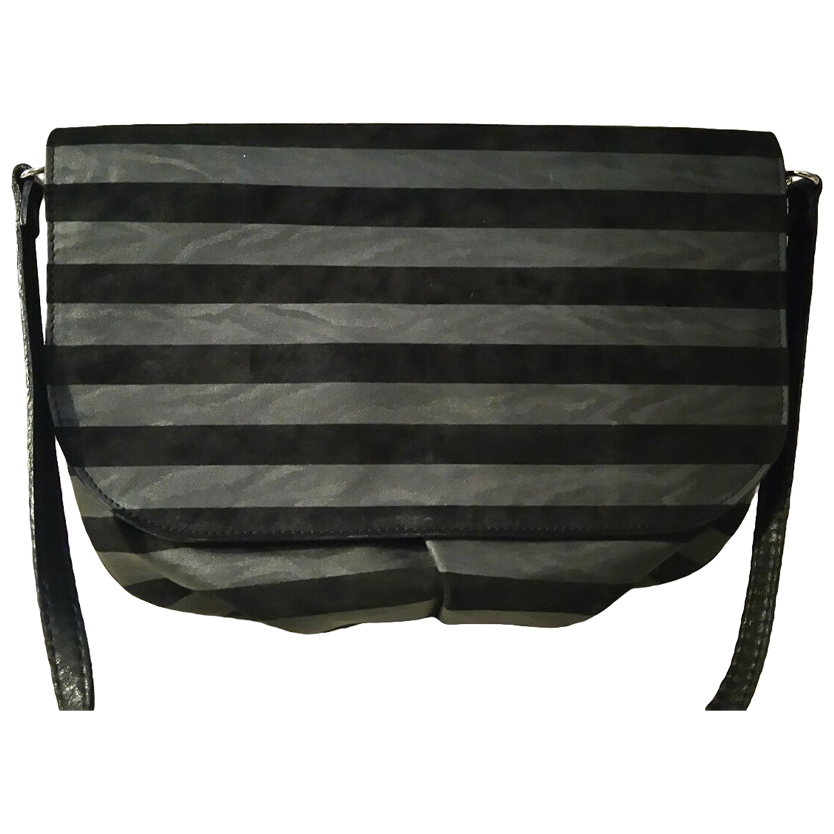 Casadei \N Handtasche in  Schwarz Veloursleder