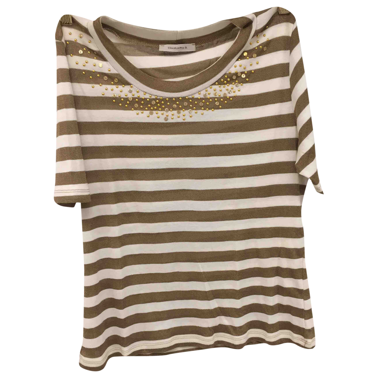 Non Signé / Unsigned \N Gold  top for Women M International