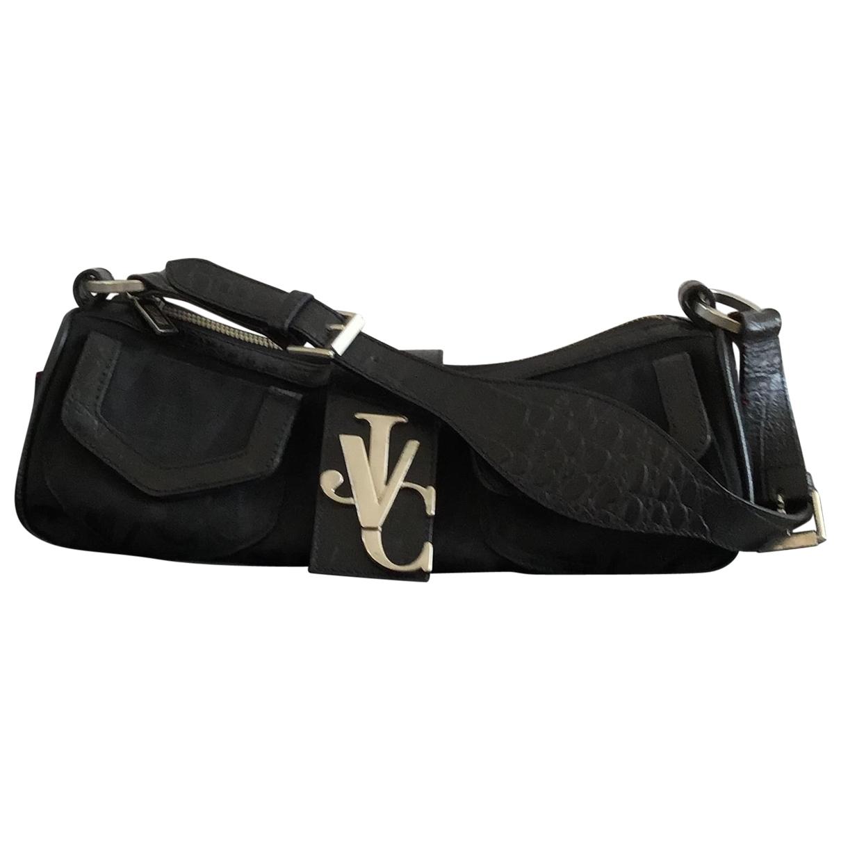 Versace Jeans \N Handtasche in  Schwarz Denim - Jeans