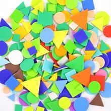 1 Pack Leuchtender Aufkleber mit Geometrie Muster