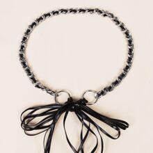 Cinturon con cadena con lazo