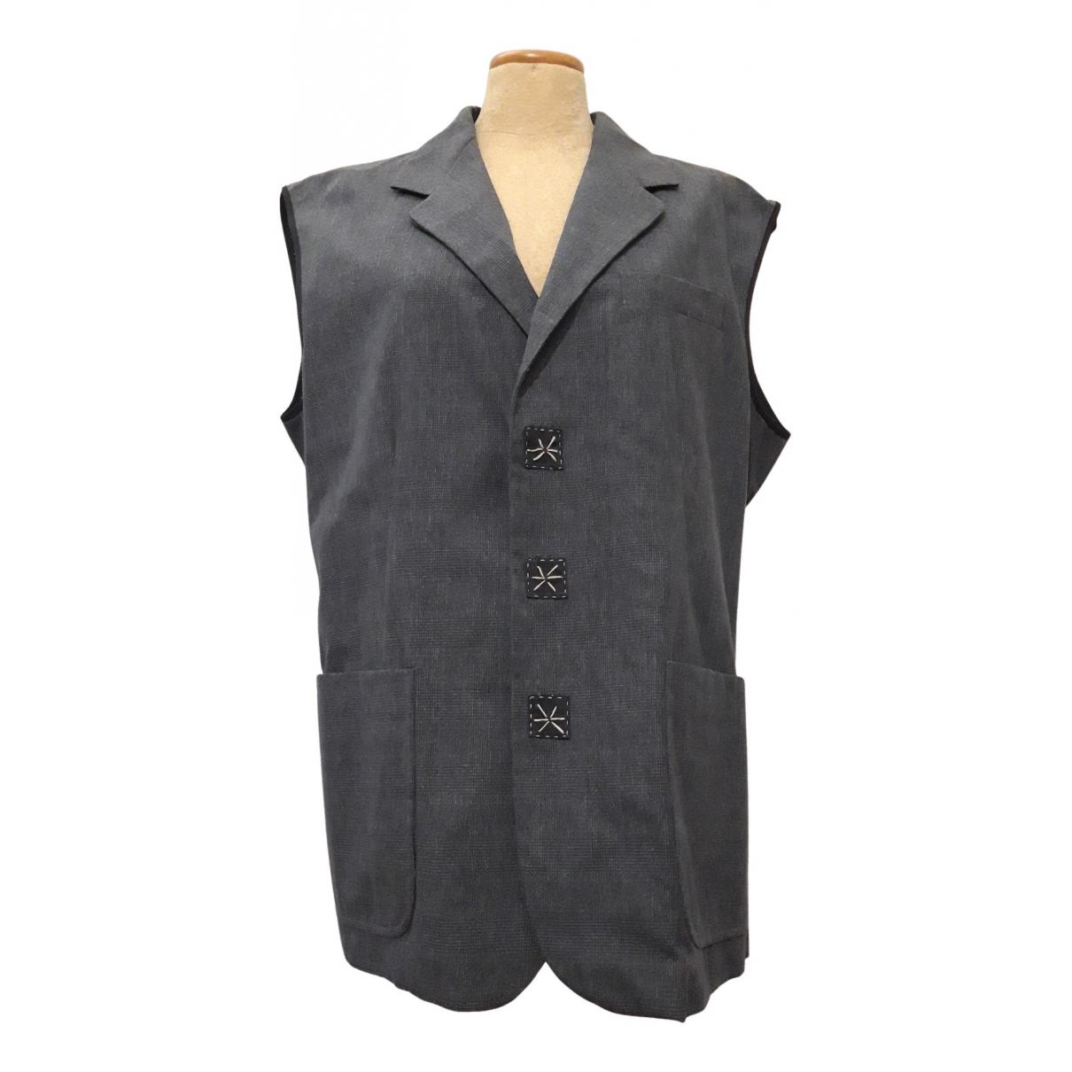 Antonio Marras N Grey Cotton Knitwear & Sweatshirts for Men 52 IT