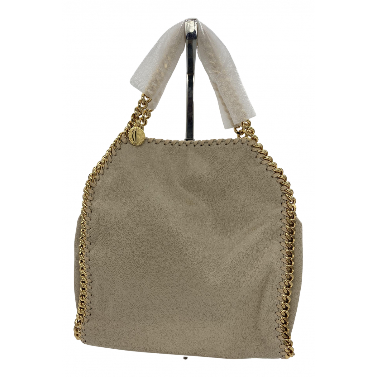 Stella Mccartney Falabella Beige Cloth handbag for Women N