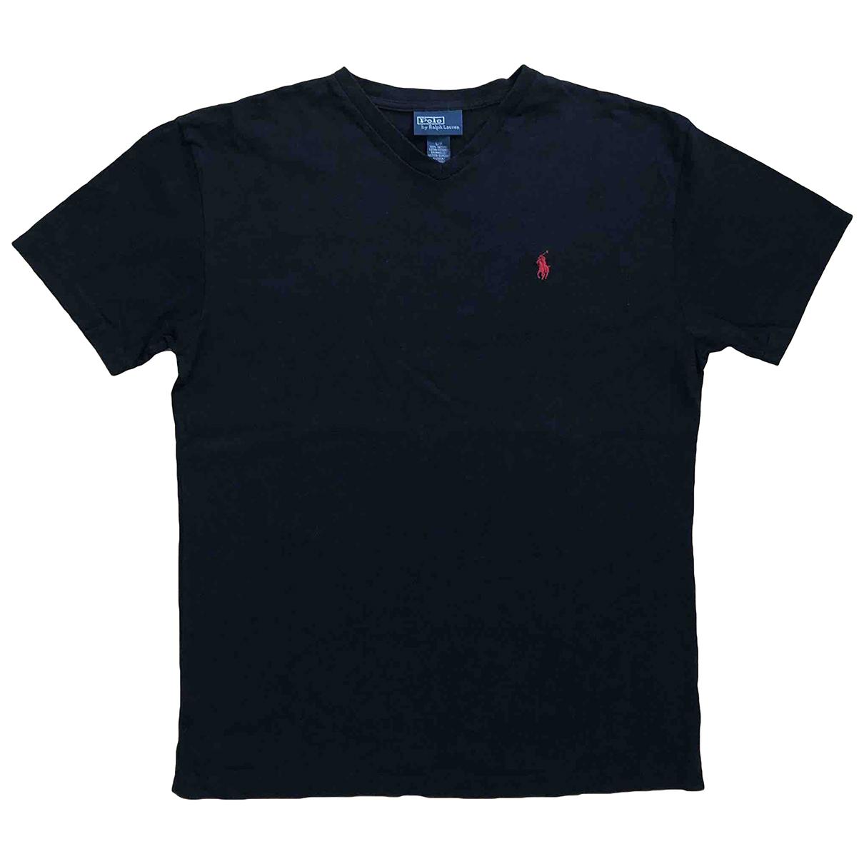 Polo Ralph Lauren - Tee shirts   pour homme en coton - noir