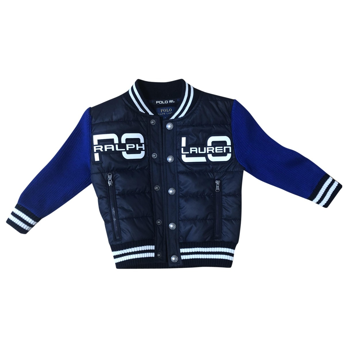 Polo Ralph Lauren \N Jacke, Maentel in  Blau Baumwolle