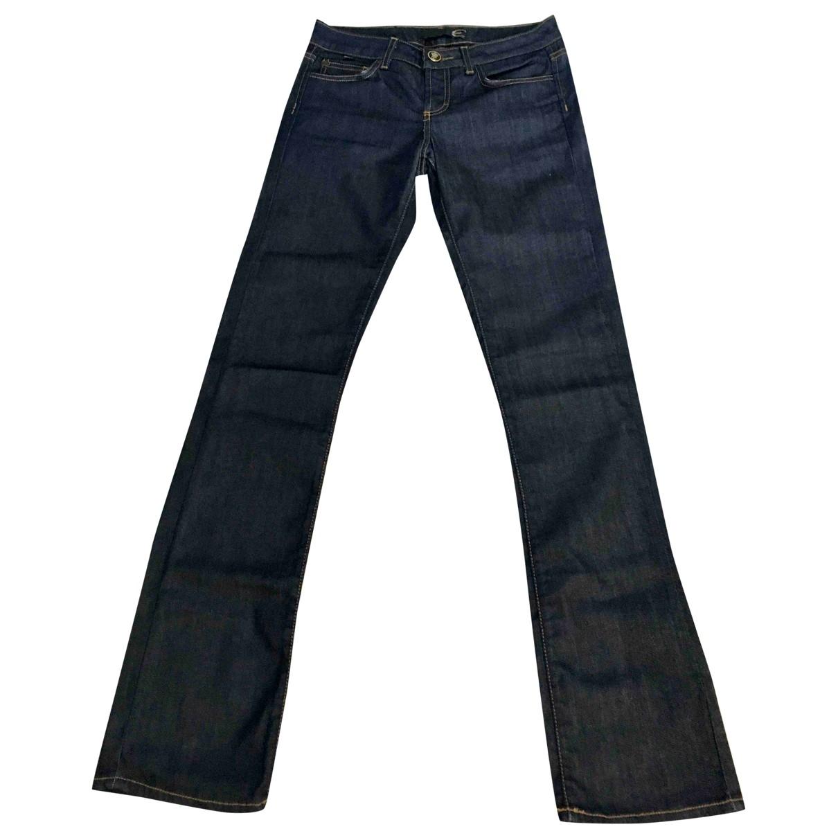 Just Cavalli \N Blue Denim - Jeans Jeans for Women 24 US