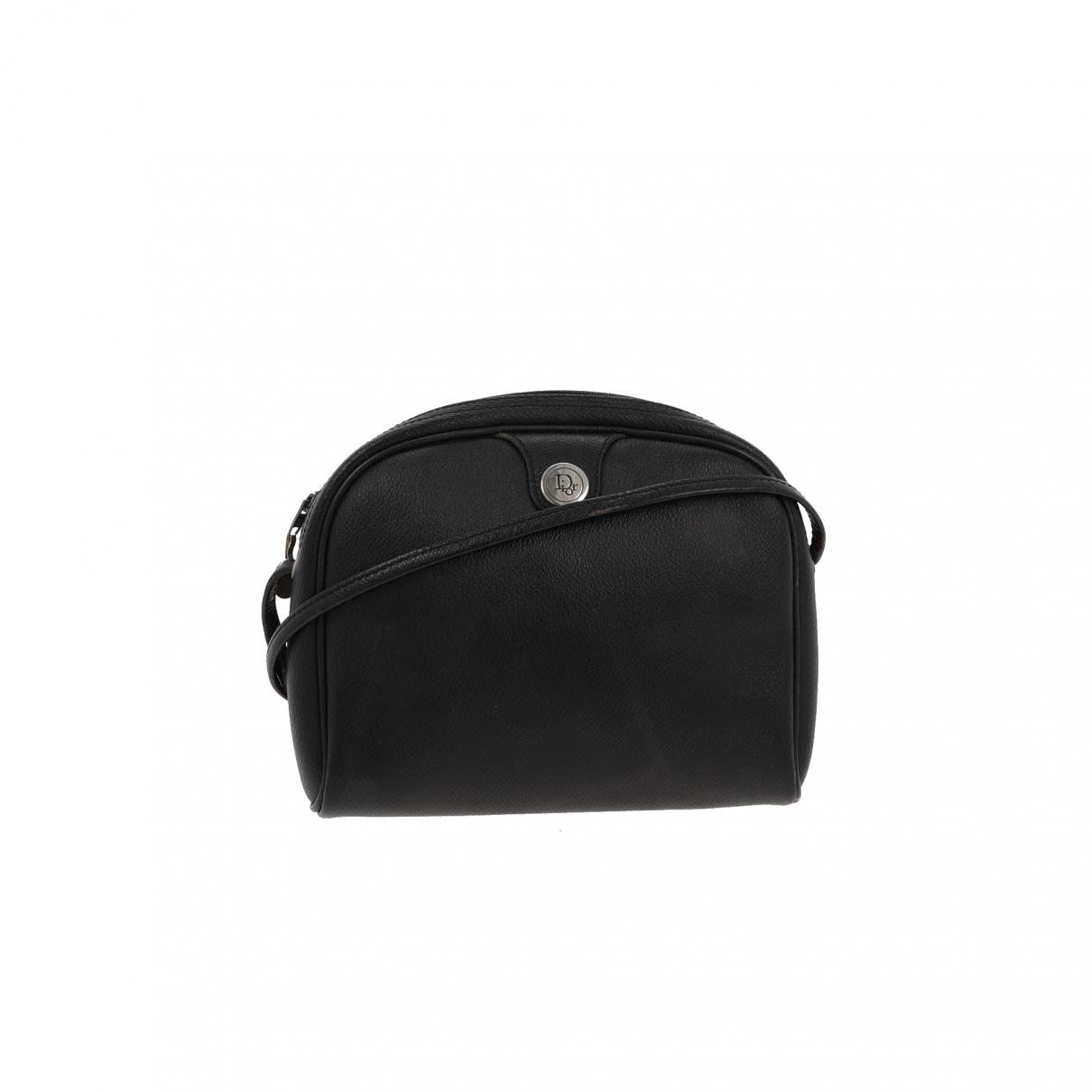 Dior - Sac a main   pour femme en cuir - noir