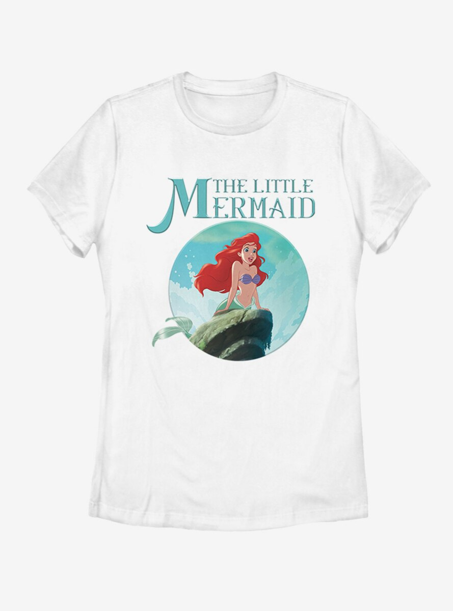 Disney The Little Mermaid Classic Womens T-Shirt
