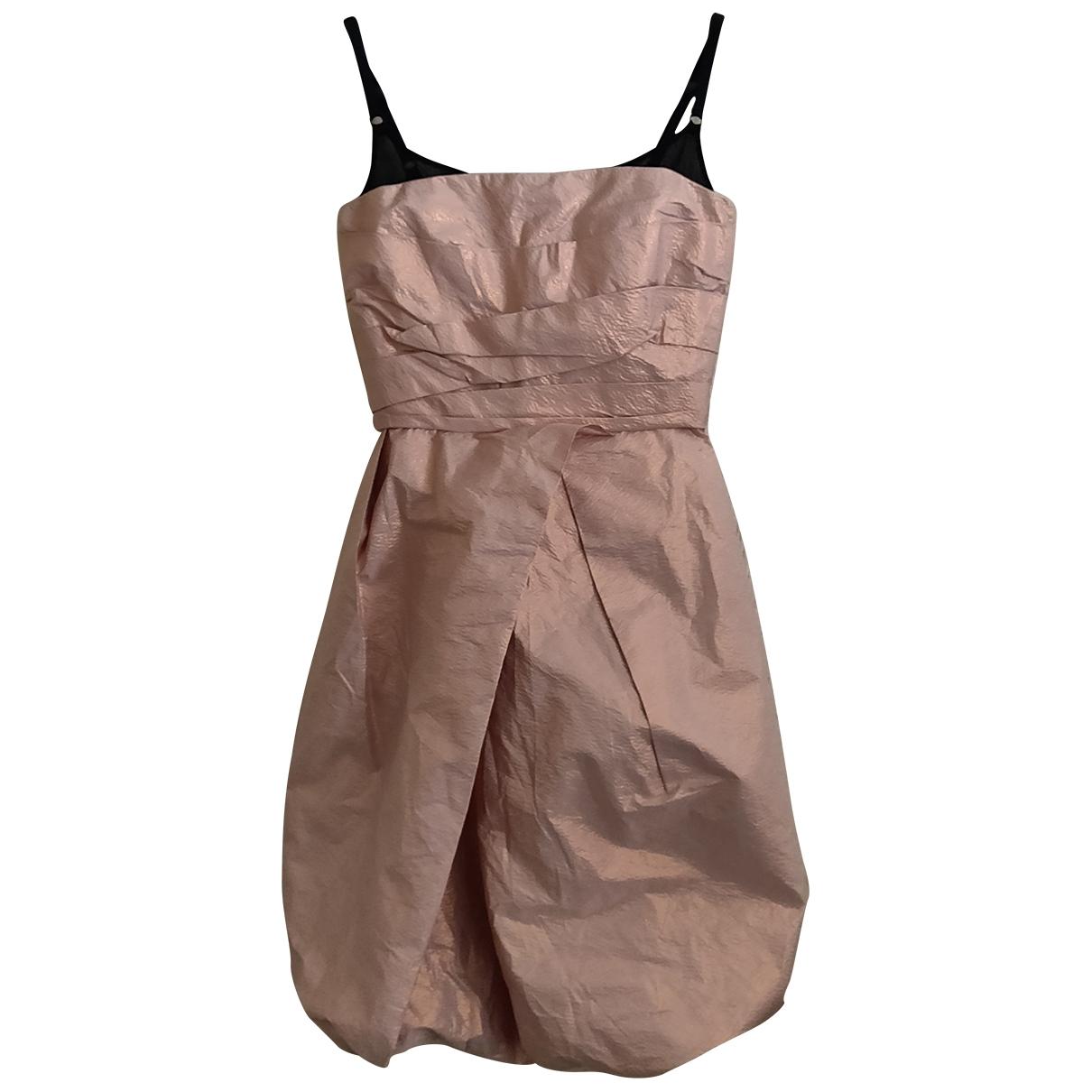 Burberry - Robe   pour femme en soie - metallise