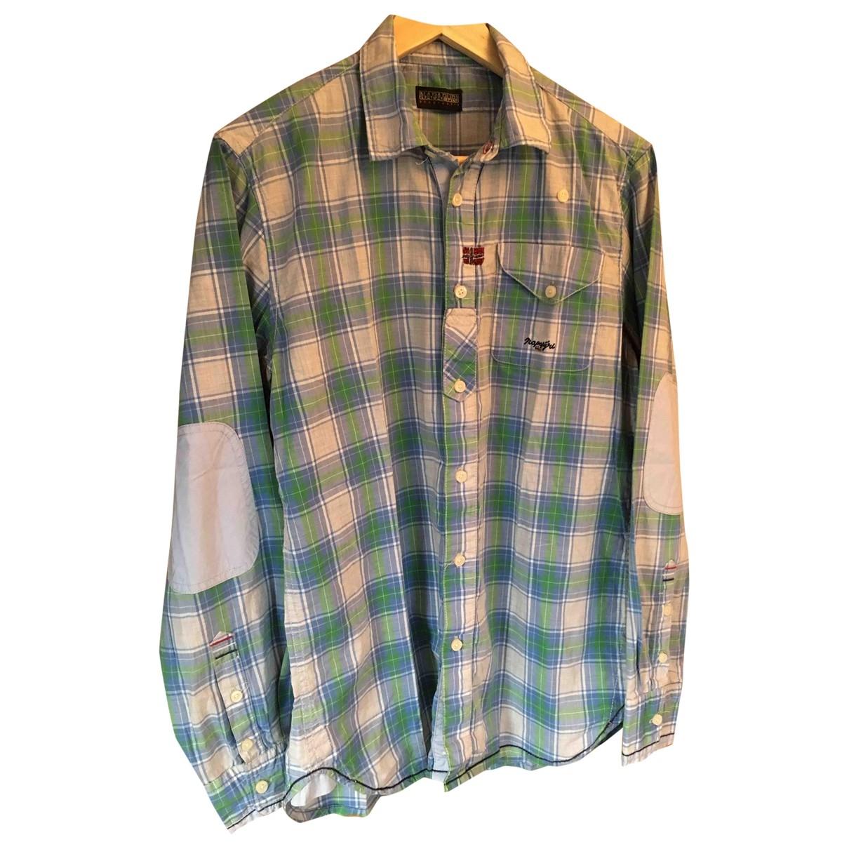 Napapijri \N Hemden in  Gruen Baumwolle