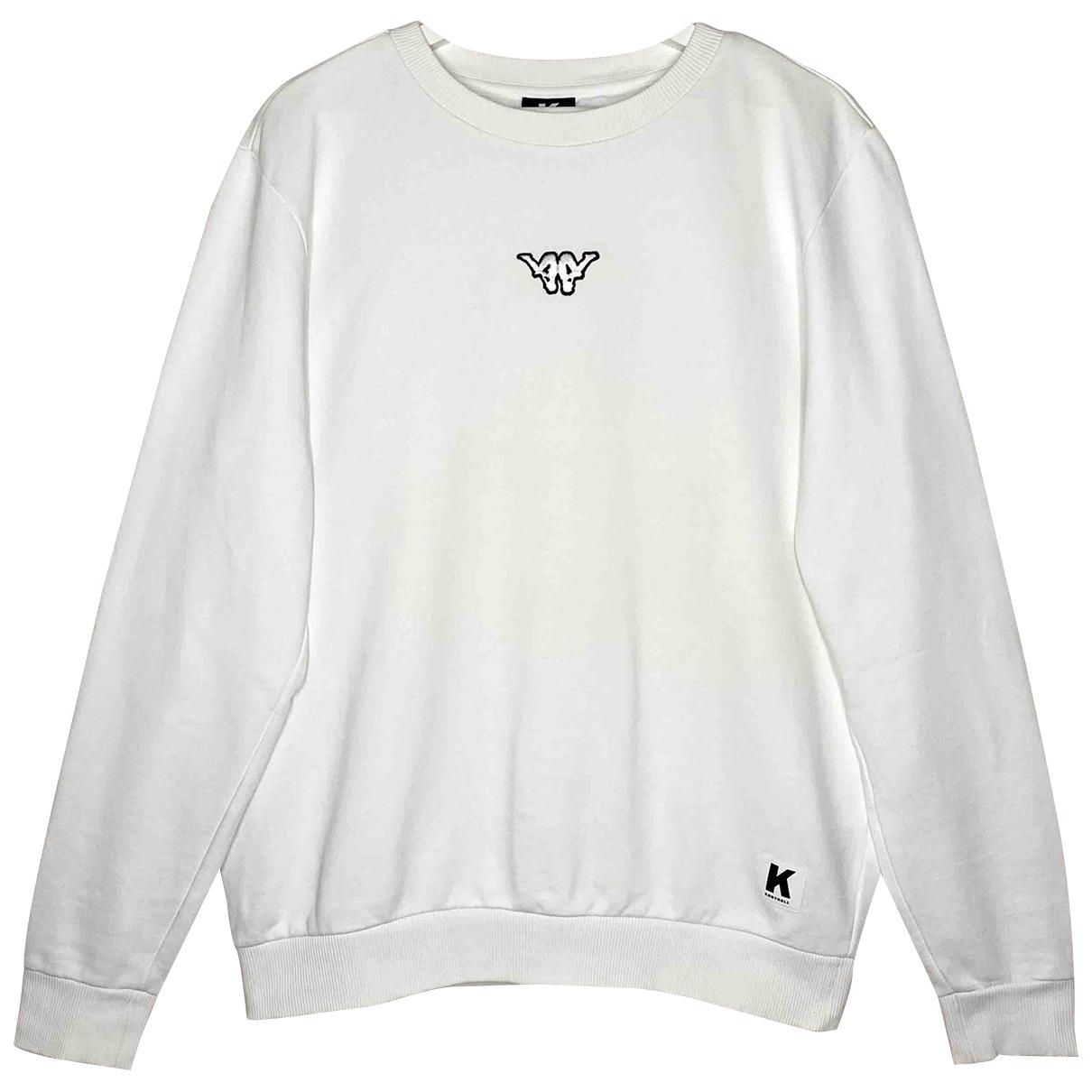 Kappa Kontroll \N Pullover.Westen.Sweatshirts  in  Weiss Baumwolle