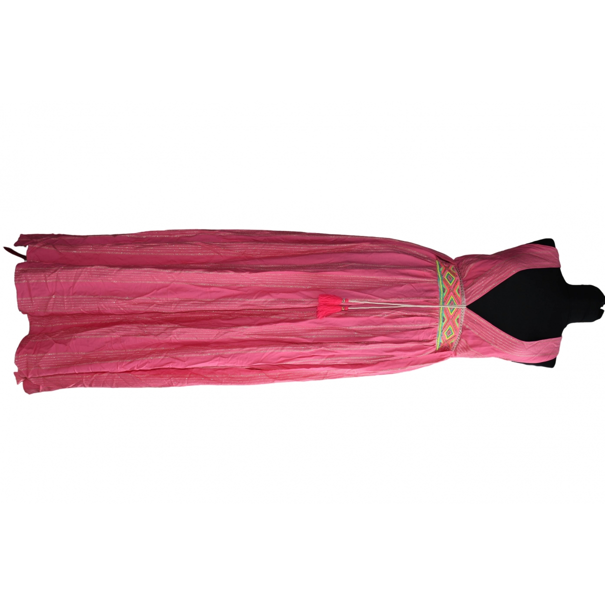 Non Signe / Unsigned \N Kleid in  Rosa Baumwolle