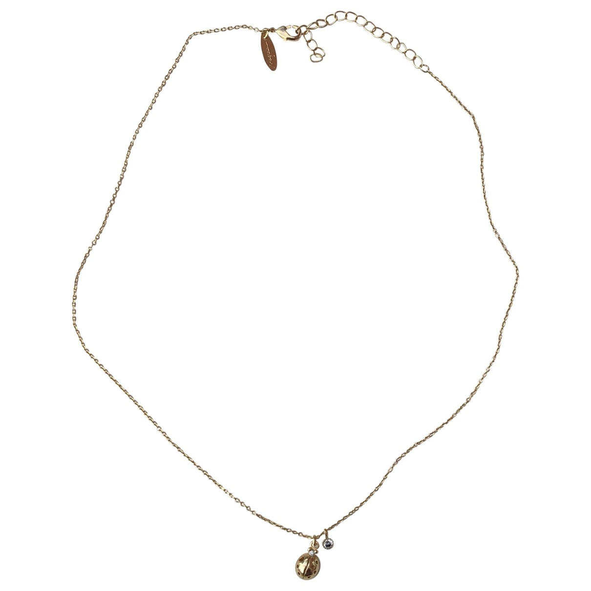 Non Signe / Unsigned \N Kette in  Gold Silber