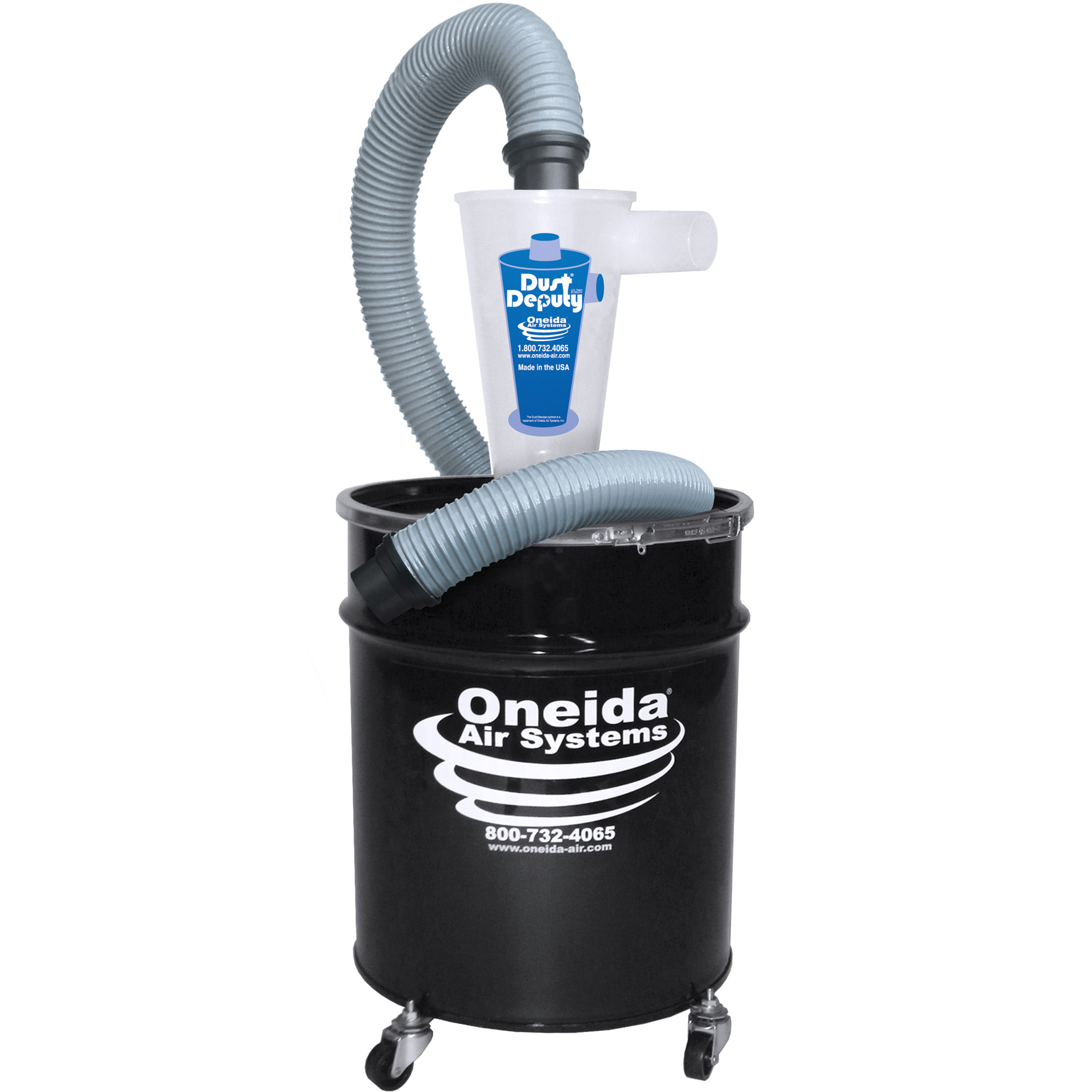 Deluxe Dust Deputy with 10-Gallon Drum