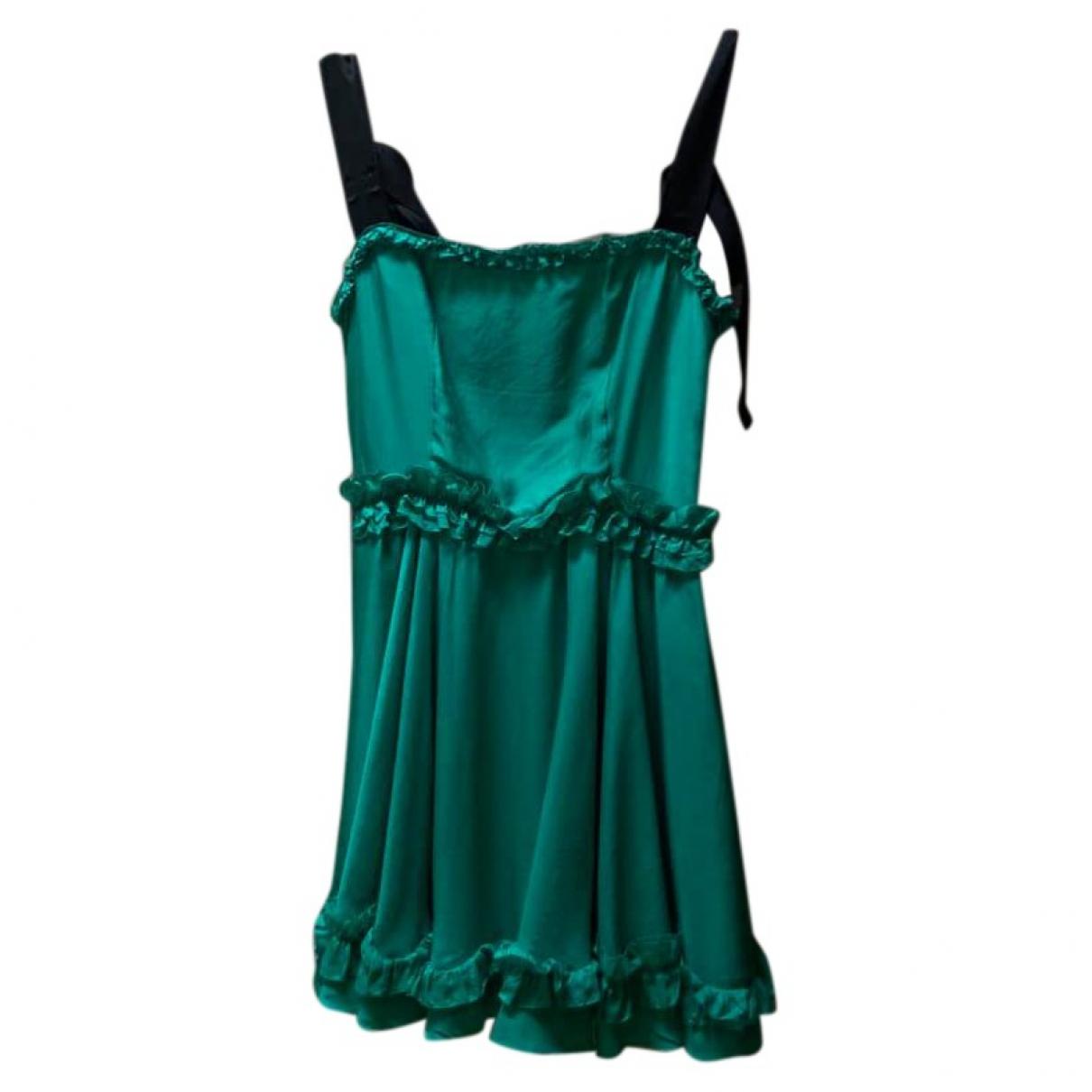 Mini vestido de Seda D&g
