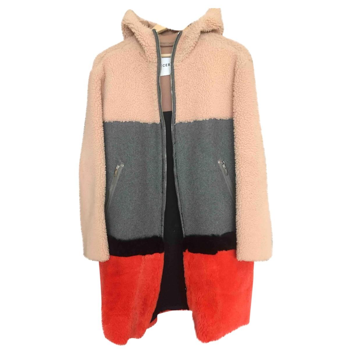 Iceberg \N Multicolour Wool coat for Women 38 FR