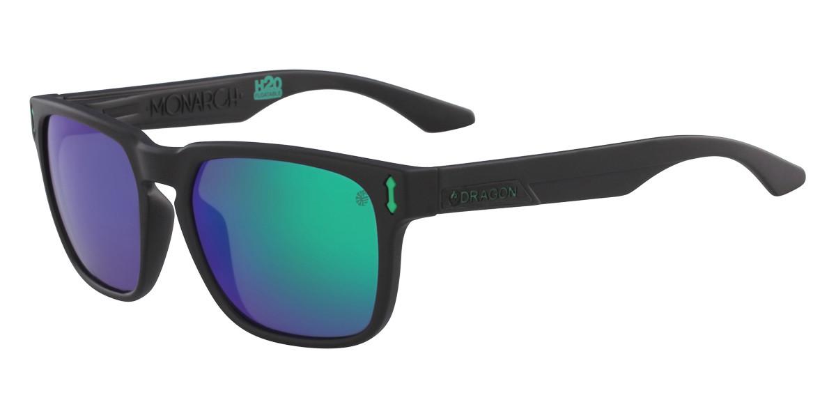 Dragon Alliance DR MONARCH LL H2O Polarized 045 Men's Sunglasses Black Size 55