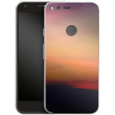 Google Pixel Silikon Handyhuelle - Sunset von Joy StClaire