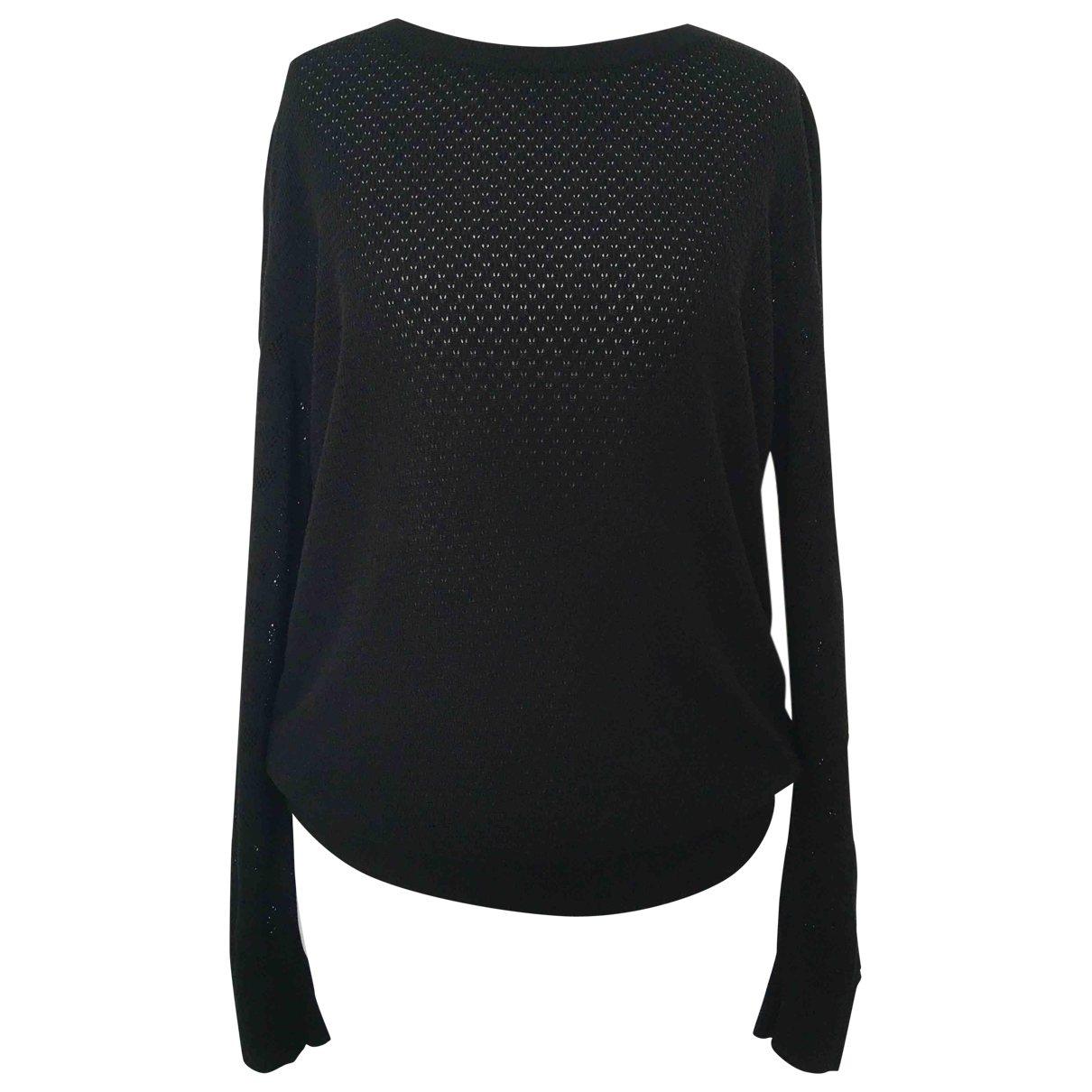 Apc \N Pullover in  Schwarz Synthetik