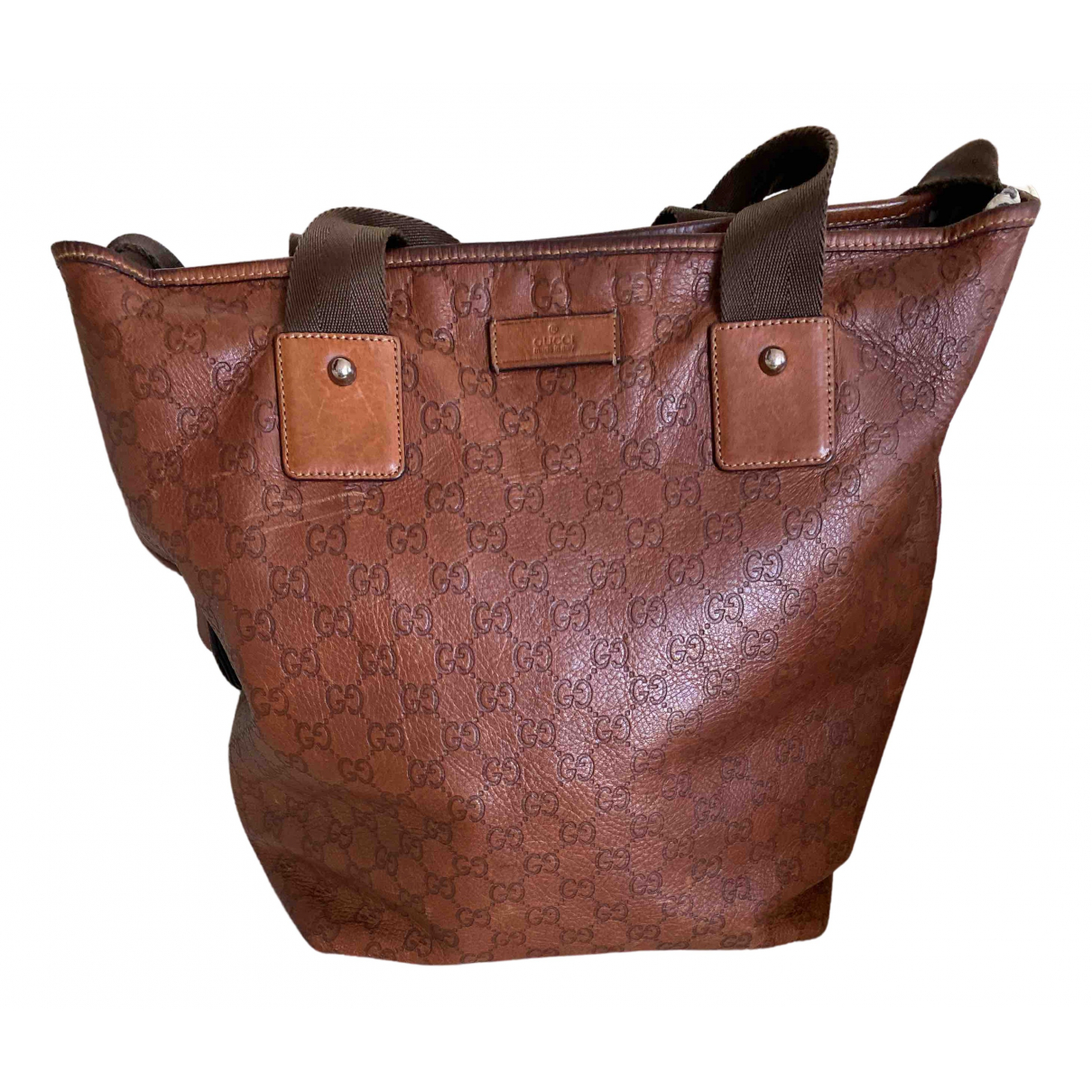 Gucci \N Leather handbag for Women \N